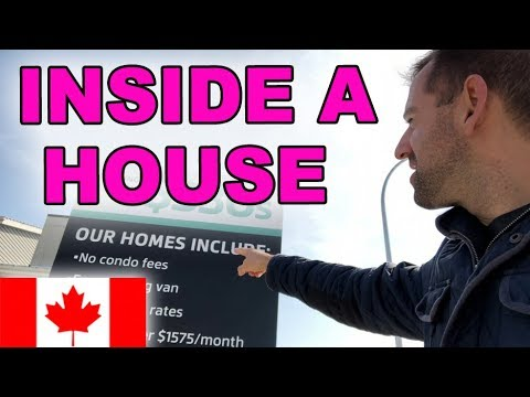 INSIDE A CANADIAN HOUSE