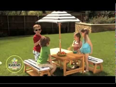 Kids Outdoor Furniture Outdoor Table Amp Chair Set With