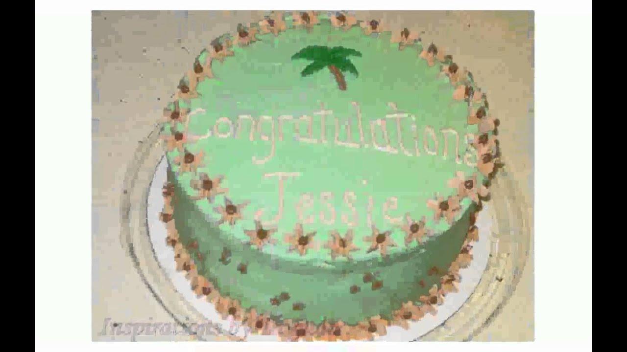 Palm Tree Cake Decorations Youtube
