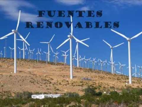 Fuentes de energia renovables y no renovables youtube - Fotos energias renovables ...