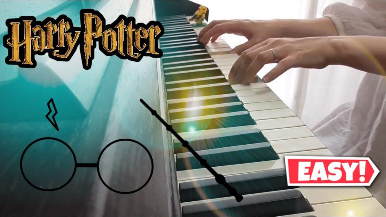 ヘドウィグのテーマ;映画「ハリーポッターと賢者の石」より・初級ピアノ