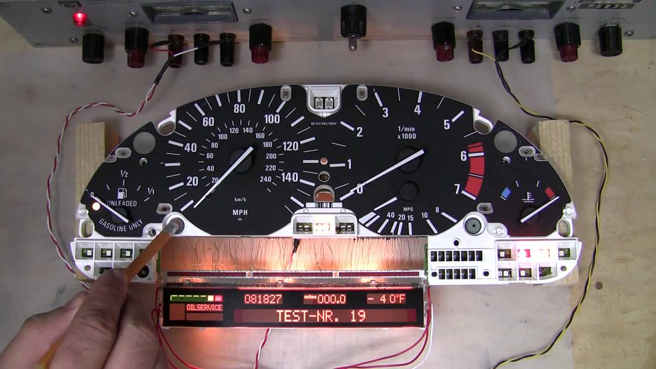 maxresdefault e39 540i instrument cluster pixels fixed youtube bmw e46 cluster wiring diagram at bayanpartner.co