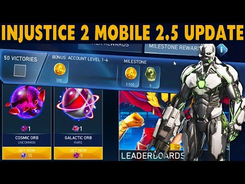 Injustice 2 Mobile Update 2 5  Grid - New Best Character