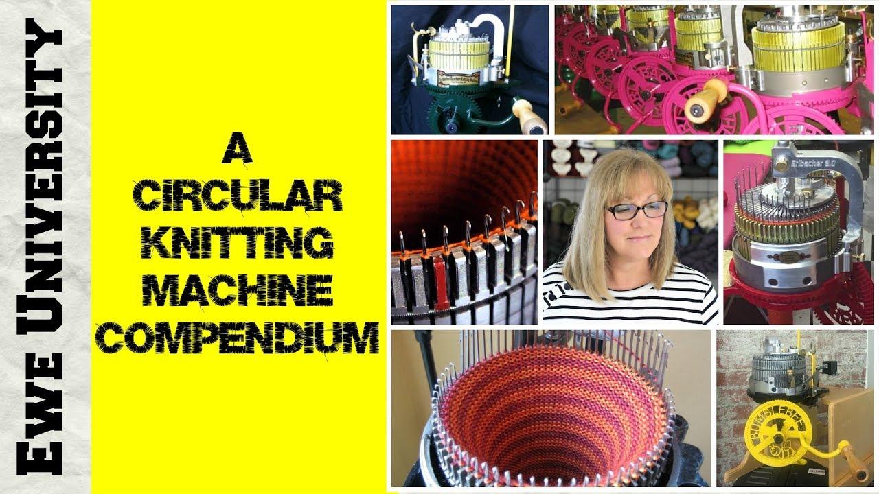 A Circular Knitting Machine Compendium Youtube