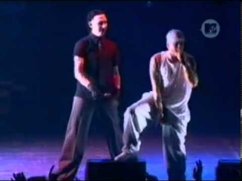 Eminem Ft. Marilyn Manson - The way i am ( Live )