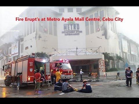 Fire Erupt's at Metro Ayala Mall Centre, Cebu City