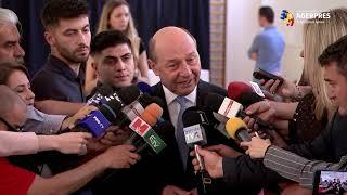 Basescu Scrutinul este important atat pentru UE, dar si pentru statul de drept din Romania