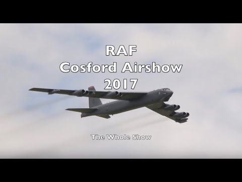 RAF Cosford Airshow 2017 in 4K - The Whole Show