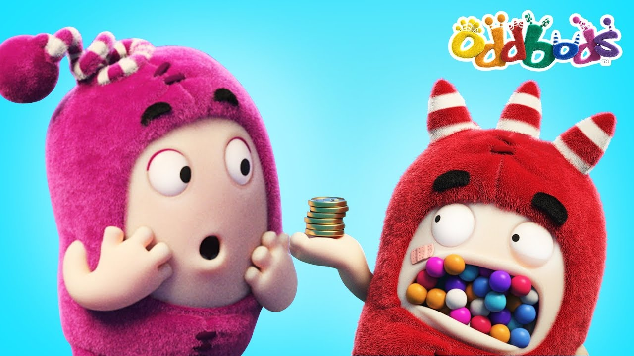 Oddbods The Gumball Machine Full Episodes Funny