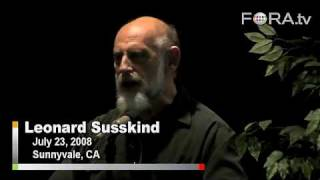 Physicist Leonard Susskind Rejects Intelligent Design thumbnail
