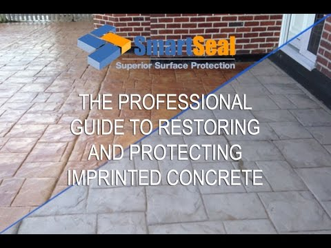 The Professional Guide to Protecting and Restoring Imprinted Concrete