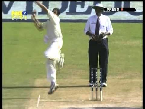 Michael Clarke 151 on test debut vs India 1st test 2004