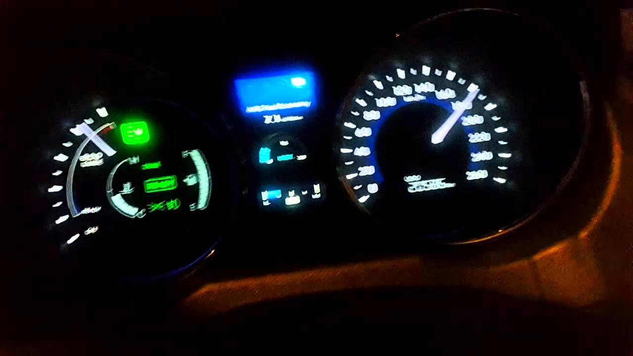 Hyundai Sonata Hybrid High Sd At 200 Km H
