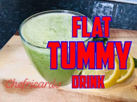 How To Get That Flat Tummy..Perfect Flat Tummy Recipe By | Chef Ricardo Cooking