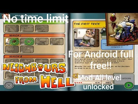Download Neighbour From Hell 1 Mod/hack Full Version|| Free For Android