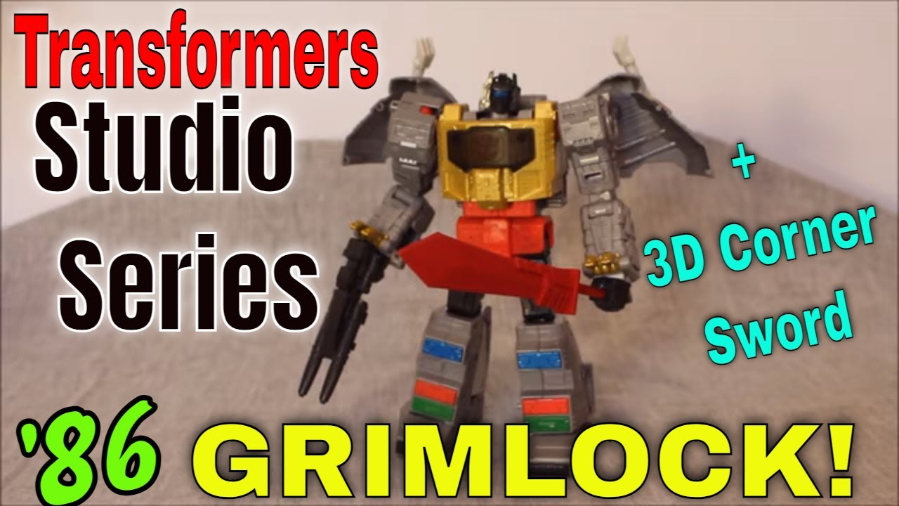 Me, Grimlock, King!: Studio Series '86 Grimlock and Wheelie Review by GotBot