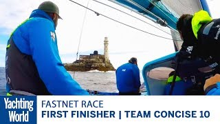 First Finisher of Rolex Fastnet Race 2017 | Trimaran Concise 10 | Yachting World