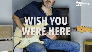 Pink Floyd - Wish You Were Here - Electric Guitar Cover by Kfir Ochaion