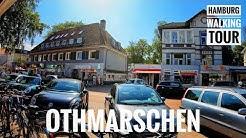 Othmarschen 4K 60 - Hamburg - Walking Tour