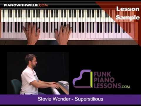 PianoWithWillie-ex2-Stevie Wonder Superstition (SUPERSTITIOUS)