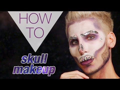 CRYSTAL SKULL | HALLOWEEN | DANNY DEFREITAS | HOW TO MAKEUP | Superdrug
