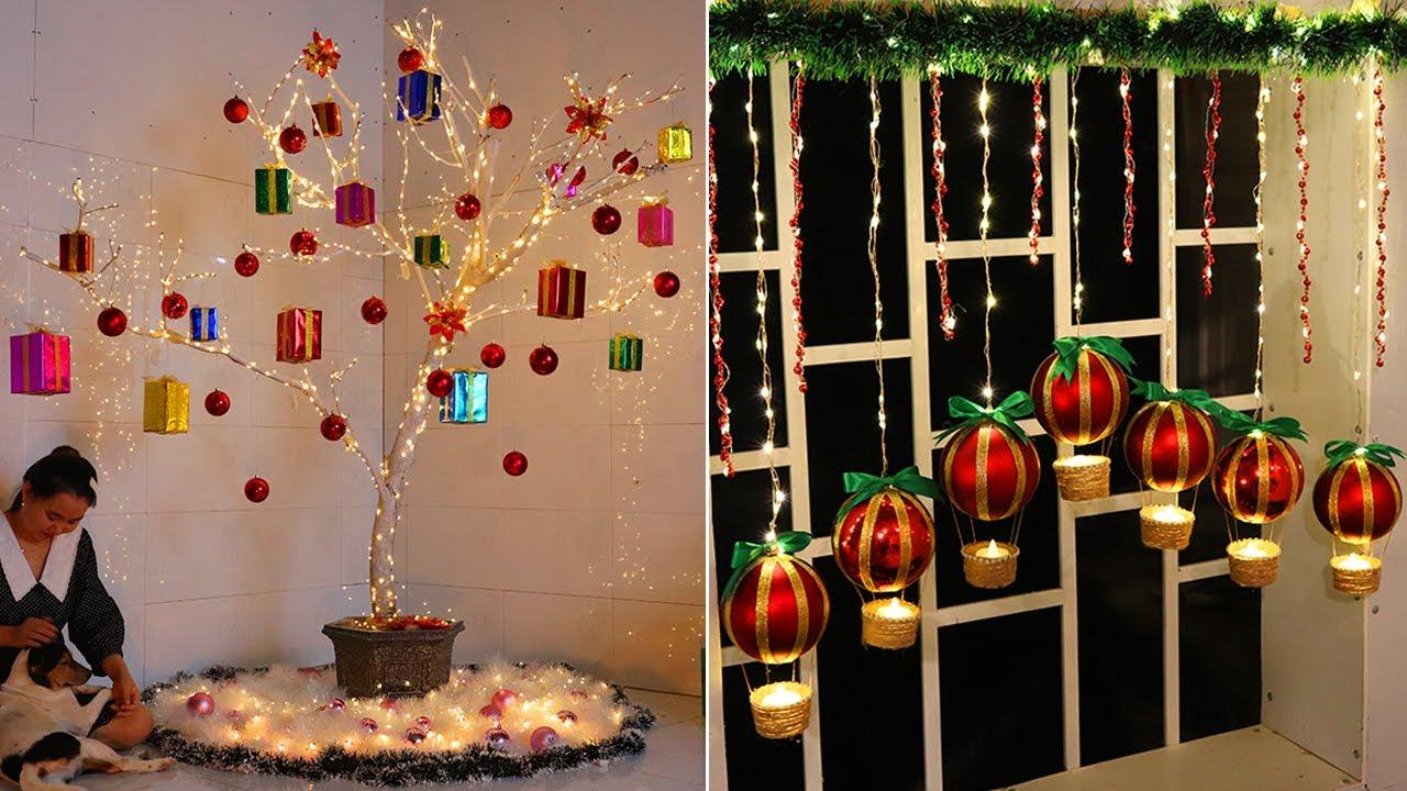 Diy christmas decorations 2021 🎄Christmas decoration ideas at home