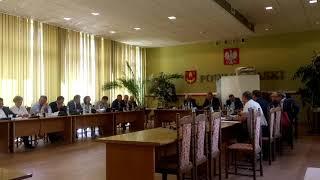 LII sesja Rady Powiatu Łaskiego 5
