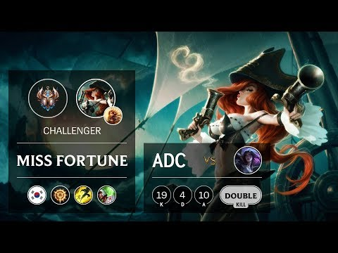 Miss Fortune ADC Vs Kai'Sa - KR Challenger Patch 9.23
