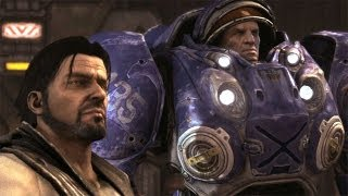 The Outlaws: Tychus Findlay Joins Jim Raynor. Dig Site Raid on Mar Sara (Starcraft 2)