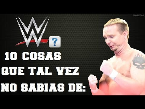 10 CURIOSIDADES DE WWE QUE NO SABIAS DE: JAMES ELLSWORTH