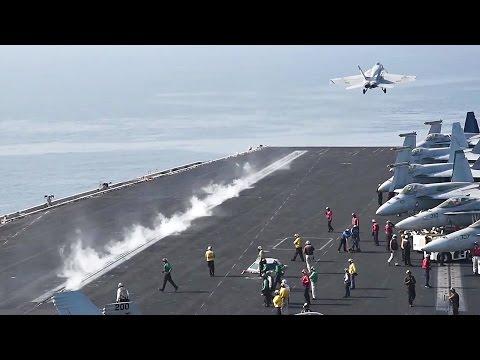 Aircraft Carrier USS Dwight D. Eisenhower (CVN 69) Air Operations