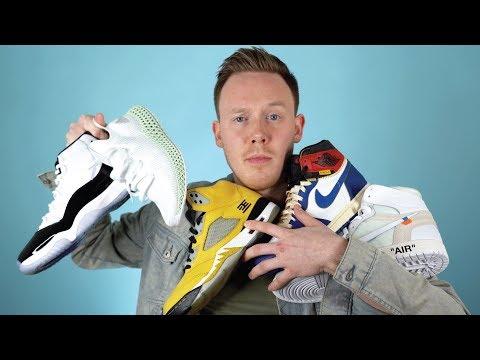 My TOP 10 Favorite Sneaker Pickups of 2018