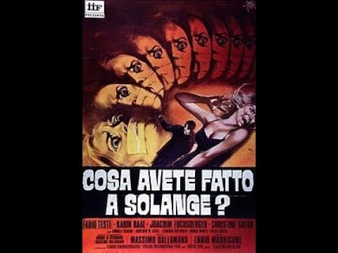 What Have You Done To Solange? (1972) - Trailer