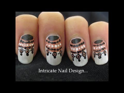 easy intricate nail design