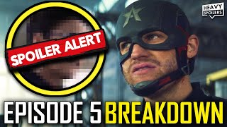 Falcon And The Winter Soldier EPISODE 5 Breakdown & Ending Explained Review | Marvel MCU Easter Eggs