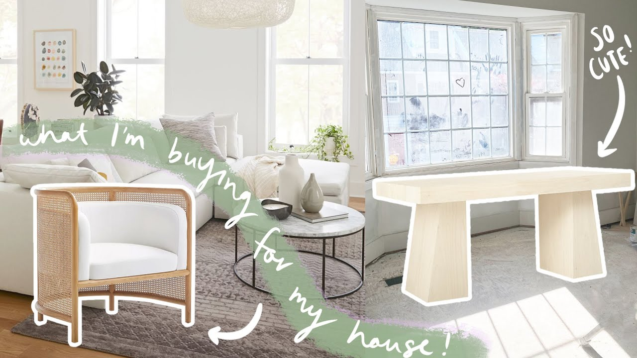 Ordering furniture for MY HOUSE!!! Online shop w me!