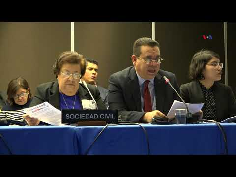 CIDH exige respuestas a gobierno de Nicaragua