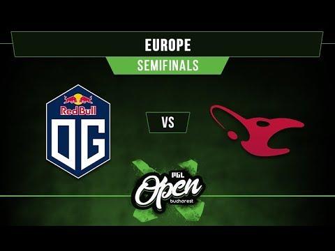 OG vs mouz - PGL Bucharest EU Qualifier G2