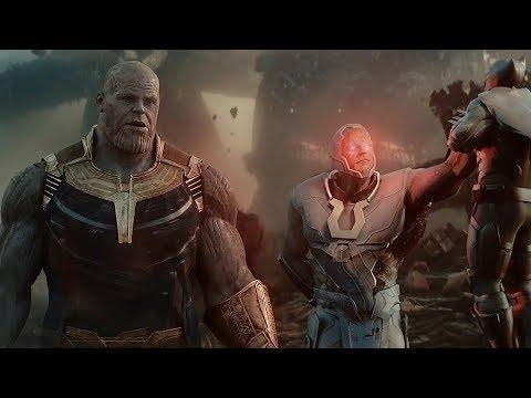 AVENGERS & JUSTICE LEAGUE vs. THANOS & DARKSEID | Infinity War Trailer [HD]
