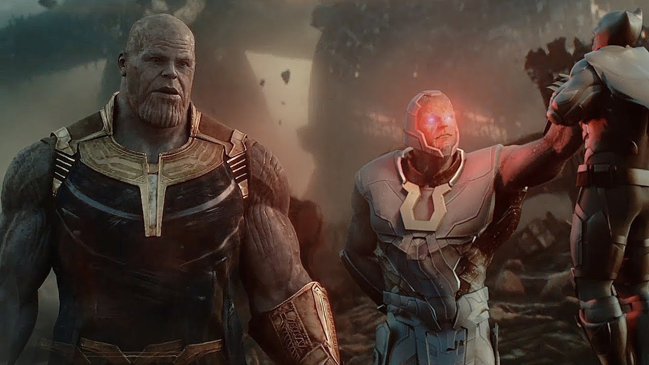 AVENGERS & JUSTICE LEAGUE vs  THANOS & DARKSEID   Infinity War Trailer [HD]