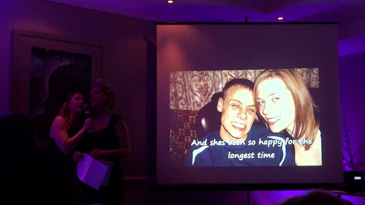 My Sisters Wedding Speech Song Inspired By Tom