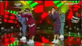 121123 Wonder Boyz - Open The Door @ Music Bank