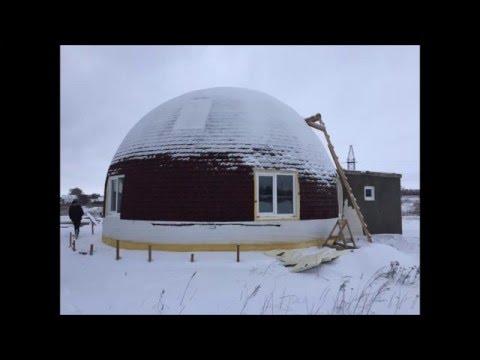 видео: Купольный дом из бетона