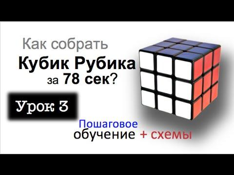 Как собрать Кубик Рубика - подробнейший видео урок