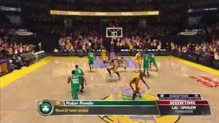 NBA '08 PlayStation 3 Gameplay - Celtics Vs. Lakers