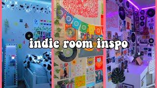 🌱🌈🍄indie aesthetic room inspiration tiktoks   how to make your room indie+indie room diys 🍄🌈🌱 - Indie/Vintage