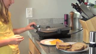 Grilled Cheese 2 Ways: Stove-Top & Panini Maker