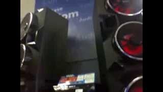 MINI SYSTEM SONY MHC GPX88 E GPX77 E HI FI AUDIO SYSTEM LG 9520