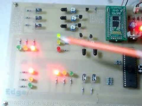 Density Based Traffic Signal System With Android Remote Override You