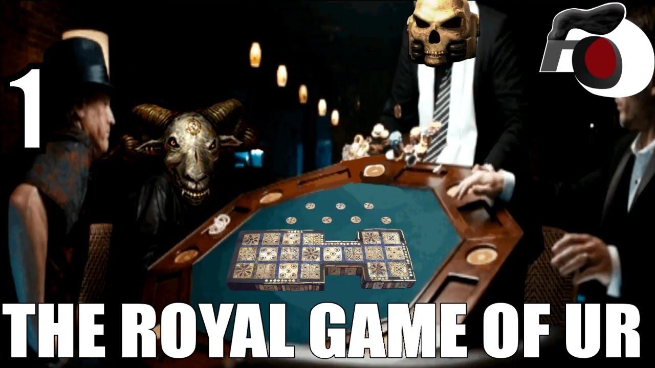 The Royal Game Of Ur Ep. 1 [Tabletop Simulator] – Ancient Board Game Fun